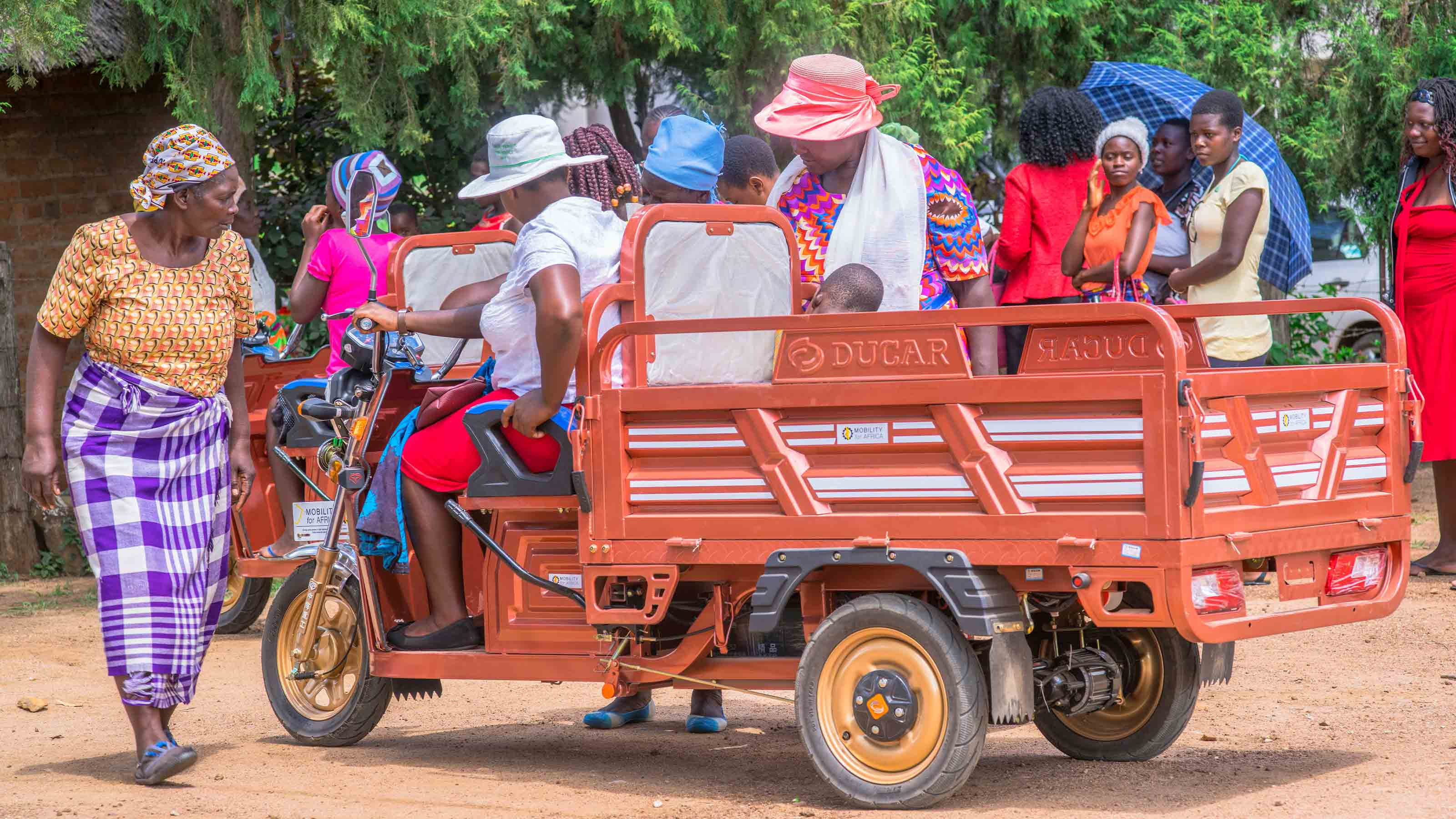 Tricycle in Zimbabwe