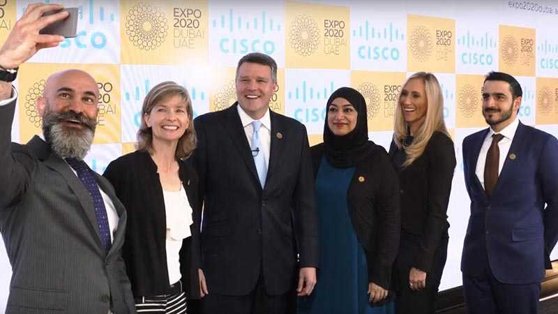 Cisco and Expo executives