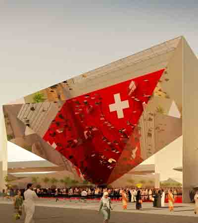 Switzerland Pavilion - Expo 2020 Dubai