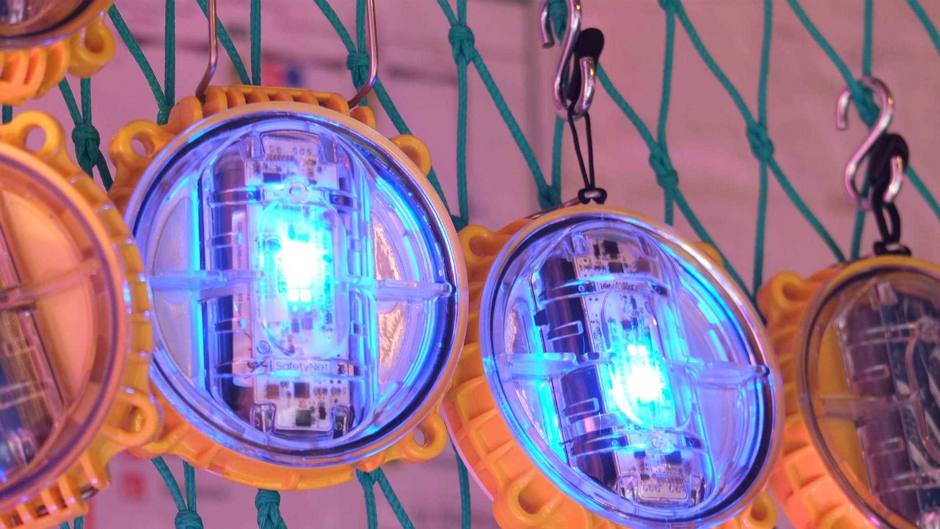 Light-emitting device called 'Pisces' used by fisherment to prevent bycatch